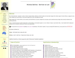 baltinos.com screenshot