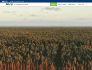 balttour.org screenshot