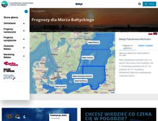 baltyk.pogodynka.pl screenshot