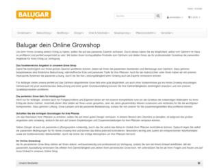 balugar.de screenshot