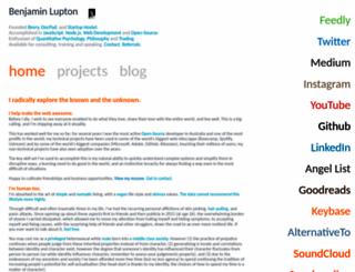 balupton.com screenshot