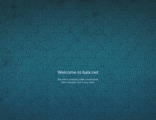 balx.net screenshot