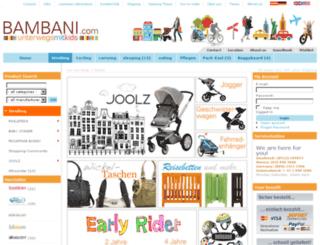 bambani.com screenshot