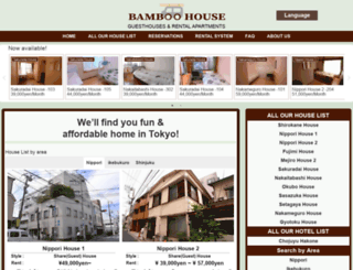 bamboo-house.com screenshot