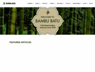 bambubatu.com screenshot