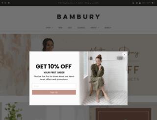 bambury.com.au screenshot