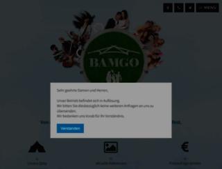 bamgo.at screenshot