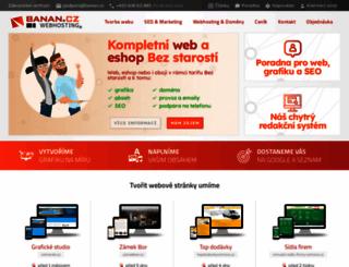 banan.cz screenshot
