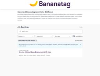bananatag.workable.com screenshot