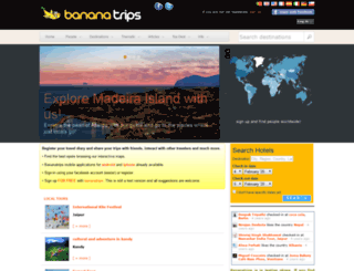 bananatrips.com screenshot