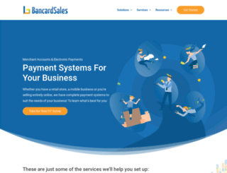 bancardsales.com screenshot
