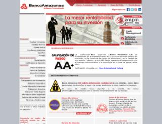 bancoamazonas.com screenshot