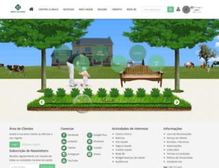 bancodasaude.com screenshot