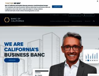 bancofcal.com screenshot