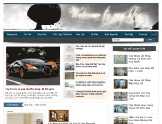bancuanhualoithep.com screenshot