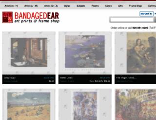 bandagedear.com screenshot