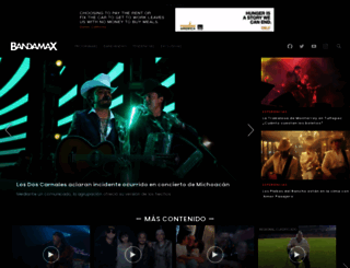bandamax.tv screenshot