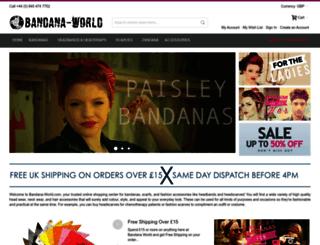 bandana-world.com screenshot