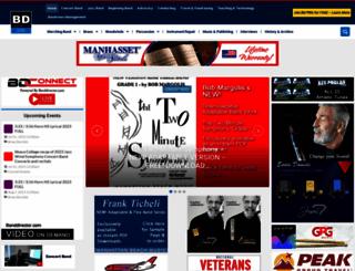 banddirector.com screenshot
