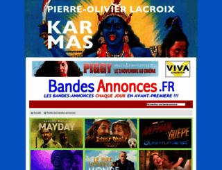 bandes-annonces.fr screenshot