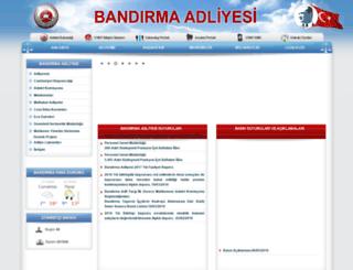 bandirma.adalet.gov.tr screenshot