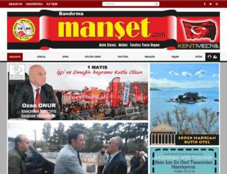 bandirmamanset.com screenshot