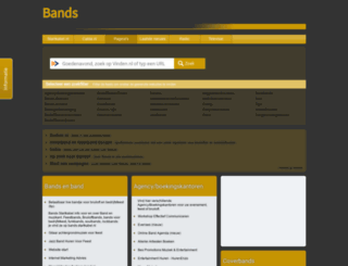 bands.startkabel.nl screenshot