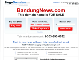bandungnews.com screenshot
