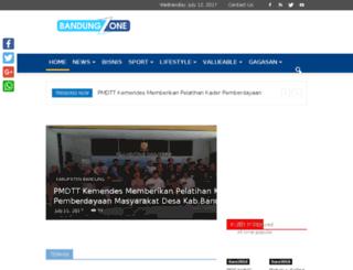 bandungzone.com screenshot