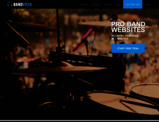 bandvista.com screenshot