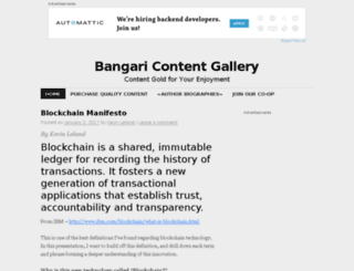 bangaricontentgallery.com screenshot