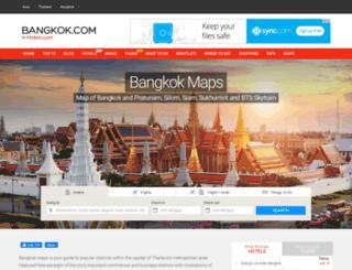 bangkok-maps.com screenshot