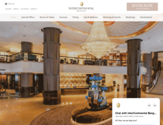 bangkok.intercontinental.com screenshot