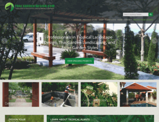 bangkokgardendesign.com screenshot