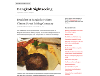 bangkoksightseeing.org screenshot