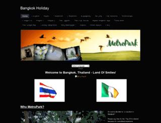 bangkokvacation.weebly.com screenshot