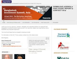 bangladeshinvestsummit.asia screenshot