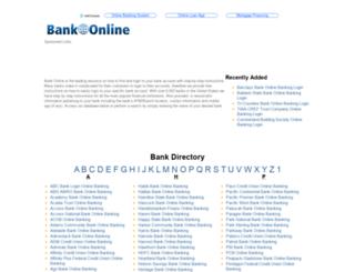 bank-online.com screenshot