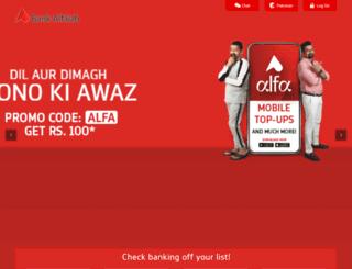 bankalfalah.com screenshot