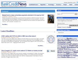 bankcreditnews.com screenshot