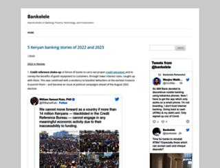 bankelele.co.ke screenshot