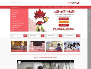 bankjatim.co.id screenshot