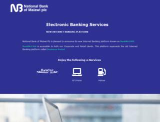 banknet.co.mw screenshot