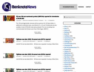banknotenews.com screenshot