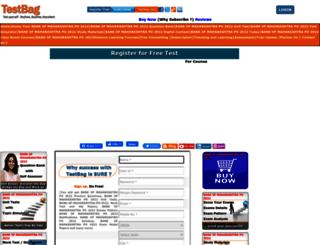 bankofmaharashtrapo.testbag.com screenshot