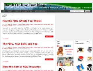bankonlinebanking.blogspot.com screenshot