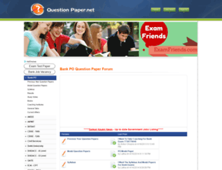 bankpo.questionpaper.net screenshot