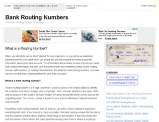 bankroutingnumber.net screenshot
