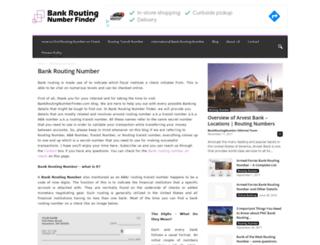 bankroutingnumberfinder.com screenshot