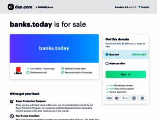 banks.today screenshot